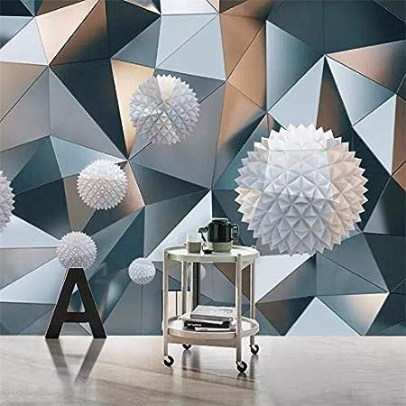 Stereo Moderne 3d Suspendu Sphere Motif Geometrique Fond Graphique Mur Personnalise Grande Peinture Murale Verte W 250x H 175cm Amazon Fr Bricolage