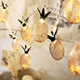 H+K+L Pineapple Pineapple Fruit Battery Box LED Lamp String Party Decoration Lighting (Yellow, L)