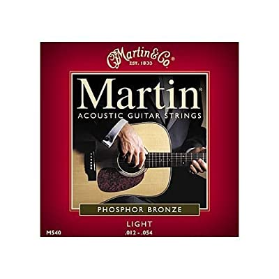 Martin M540 Phosphor Bronze Acoustic Guitar Strings, Light from C.F. Martin & Co.