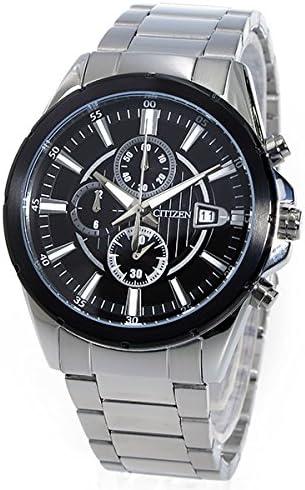 シチズン クロノ クオーツ メンズ 腕時計 AN3561-59E ブラック [並行輸入品]