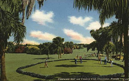 Clearwater Golf and Country Club Clearwater, Florida Original Vintage Postcard ()