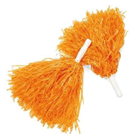 1 dz Fun Express Orange Pom Poms