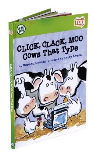 20 Click Type - Leapfrog Tag Kid Classic Storybook Click, Clack, Moo, Cows That Type
