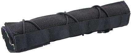 "OAREA Chasse Tactique Airsoft 22cm 8.7 /""Silencieux Suppressor Mirage Heat Cover Shield Sleeve Shuffler Baffler Protector Mutlicam"