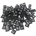 Fenteer 約100個 ウッド 26アルファベット ボードゲーム ゲームピースの商品画像