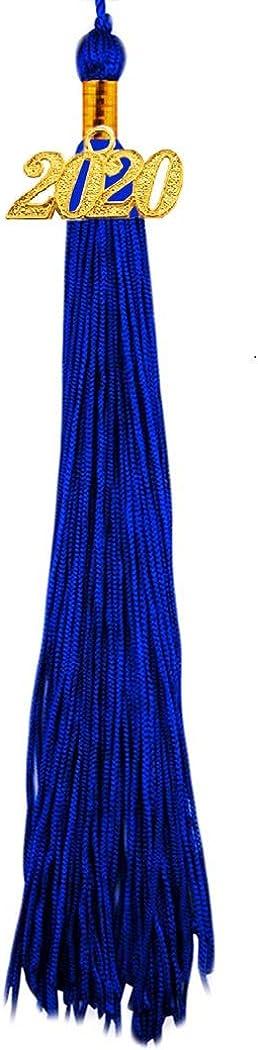 HEPNA 2020 Uniforms Preschool/&Kindergarten Graduation Gown Cap Tassel Set,Silky Graduation Robe