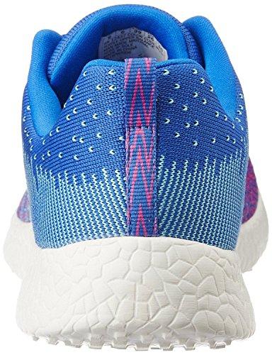 Skechers Burst Ellipse Bleu Rose Blanc Formateurs Femmes Chaussures
