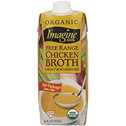 Imagine Organic Free Range Chicken Broth, 16 Fl Oz
