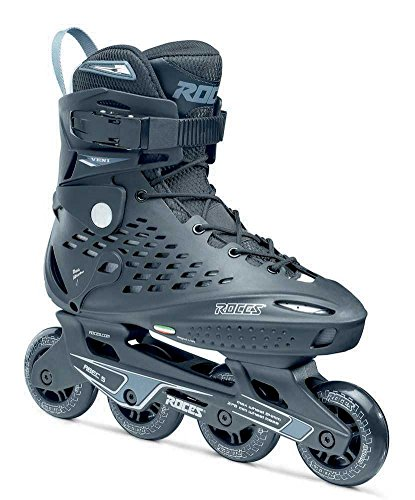 Roces Men's Veni Fitness Inline Skates Blades, Black/White. 400455 00001-11