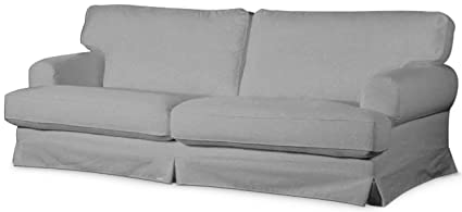 Cotton Ekeskog Sofa Cover Replacement, Custom Made for IKEA Ekeskog 3 Seater Sofa Slipcover Only (Light Gray)