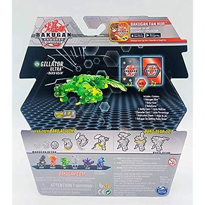 Bakugan Ultra, Ventus Gillator with Transforming Baku-Gear, Armored Alliance 3-inch Tall Collectible Action Figure…: Toys & Games