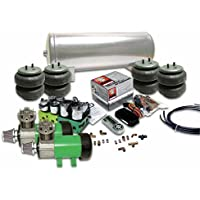 Helix 10173 Delux 2 Compressor Air Bag Suspension System with Digital 2 Preset AirCommand Controller