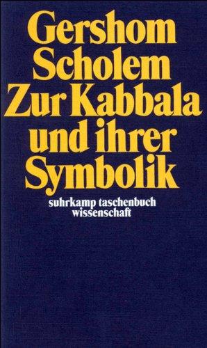Zur Kabbala und ihrer Symbolik (suhrkamp taschenbuch wissenschaft) Taschenbuch – 11. Juni 1973 Gershom Scholem Suhrkamp Verlag 3518276131 Judentum