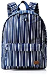 Roxy Women's Sugar Baby Canvas Backpack, Dress Blues Vertical Stripes, One Size