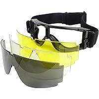 Airsoft caza gafas Táctica Militar Paintball viento Polvo