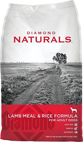 Diamond Naturals Dry Food for Adult Dogs, Lamb and Rice Formula, 40 Pound - Formula Bag 40lb