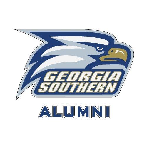 Georgia Southern Alumni Decal 'Georgia Southern w/ Eagle Head'