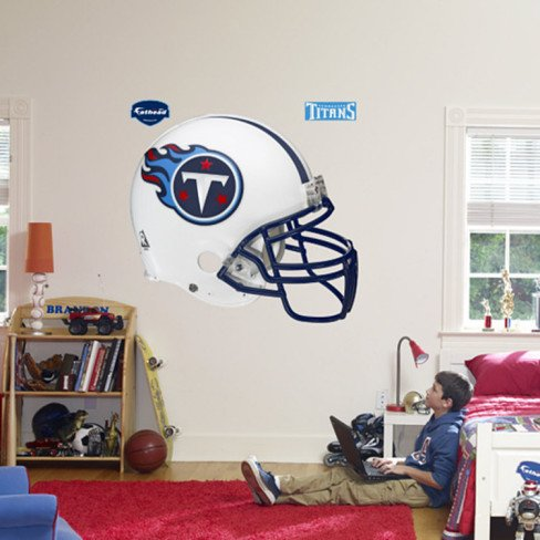 Titans Helmet -Fathead Wall Decal - 51 x 57 in