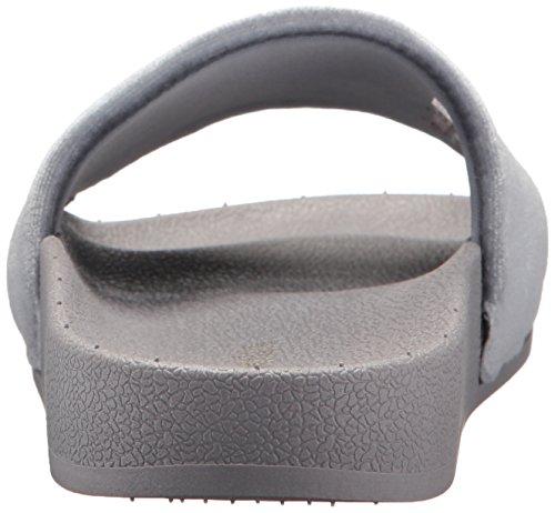 Grey Chooka Femmes Velvet Slide Chaussures SrzTnSx