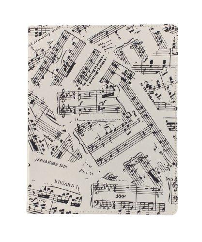 Eccolo World Traveler Desk Size Journal, Music Notes (D505E)