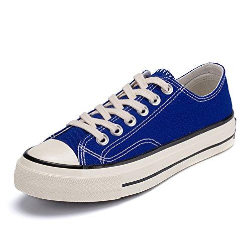 Männer - casual mode leinwand schuhe studenten leinwand schuhe studenten studenten studenten  niedrig - leinwand schuhe,blau,44 3ff443