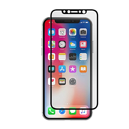 Incipio Screen Butter iPhone X Full Coverage Screen Protector - Black -  CL-642-TG-BLK