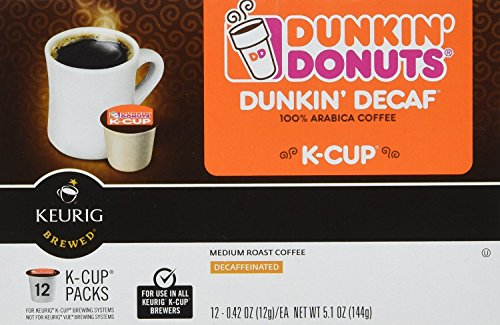 Dunkin Donuts K-Cups Decaf - 48 Count