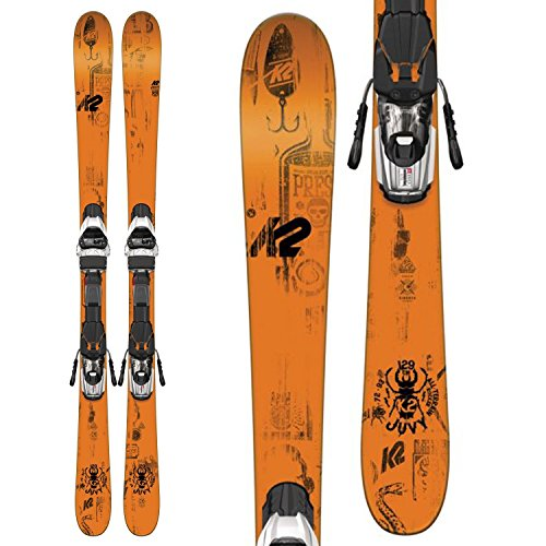K2 Juvy Kids Skis with Marker Fastrack2 7.0 Bindings 2017 - 119cm