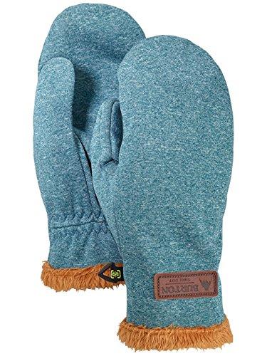 Process Bonded Fleece - Burton Women's Sapphire Mitts Touchscreen Winter Gloves (Balsam Heather, Small)