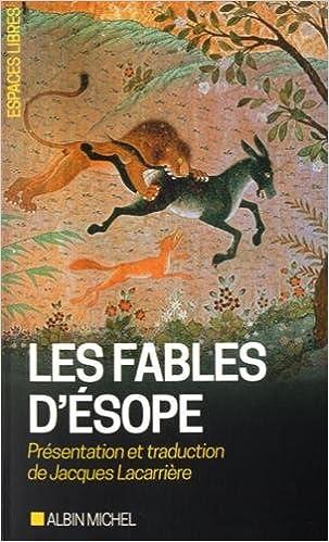 Lire en ligne Les Fables d'Esope pdf epub