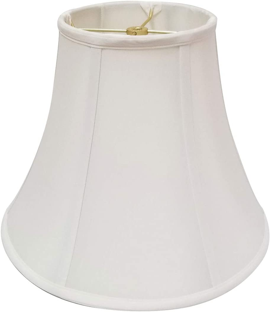 Royal Designs True Bell Lamp Shade - White - 9 x 18 x 13.625