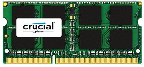 Crucial 8GB Kit (4GBx2) DDR3/DDR3L 1866 MT/s (PC3-14900) SODIMM 204-Pin Memory For Mac - CT2K4G3S186DJM