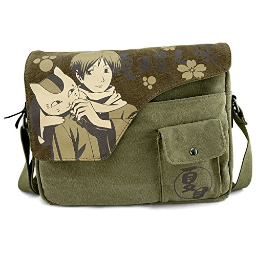 Japanese Anime Natsume Yuujinchou Yujin-Cho Shoulder School Bag Canvas Messenger Bags