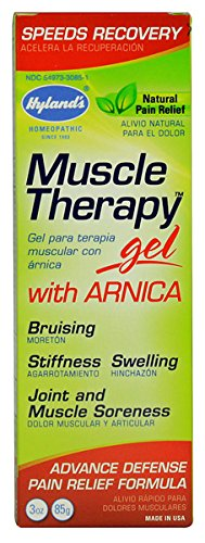 Hyland's Muscle Therapy Gel with Arnica -- 3 (Muscle Therapy Gel)