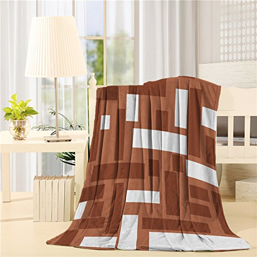 KAROLA All Season Super Soft Lightweight Warm Decorative Throw Blanket Bed Couch and Gift Blankets 60x80