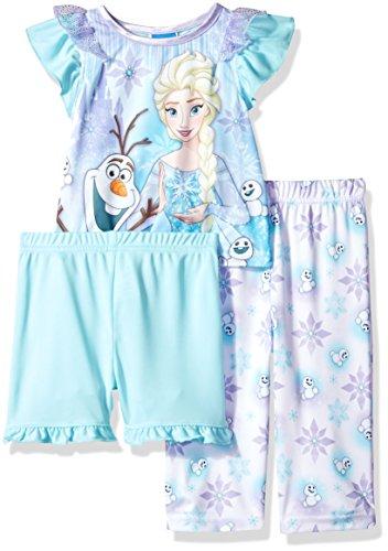 Disney Baby Girls' Frozen 3-Piece Pajama Set,