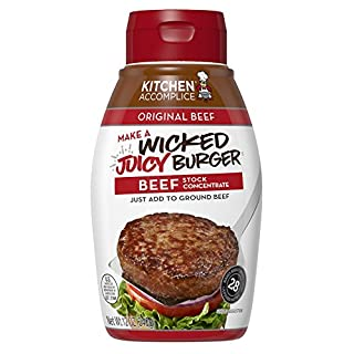 Kitchen Accomplice Wicked Juicy Burger Stock Concentrate, Beef, 12 oz