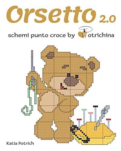 Amazon It Orsetto 2 0 Schemi Punto Croce By Potrichina Katia