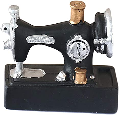 Coomir Mini máquina de Coser Adornos de Resina artesanía de decoración Vintage para Oficina en casa: Amazon.es: Hogar