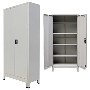 Amazon Metal Office Cabinet 2 Doors Locker File Storage