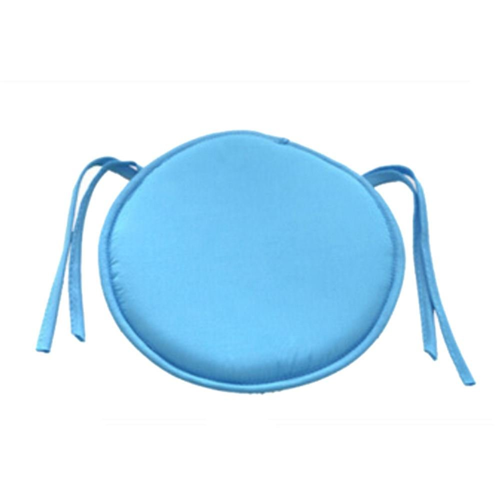 Chair Round Garden Pads Home Office Dining Kitchen Seat Pads - Blue Round Seat Pad Small Net