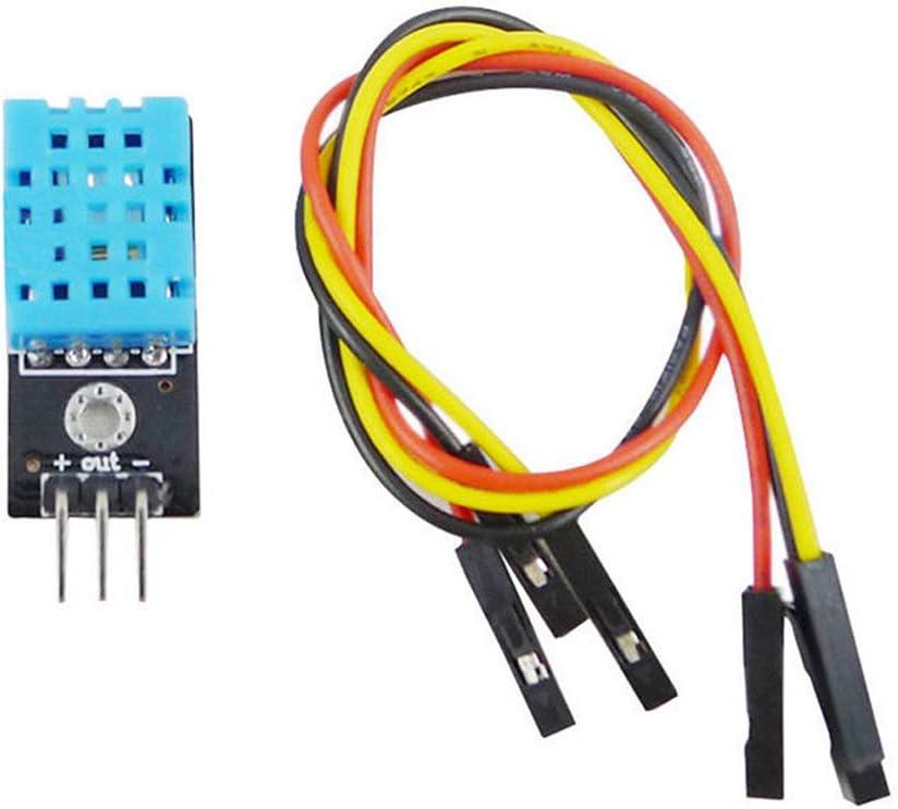 Ambility Digitaler Temperaturrelativer Luftfeuchtigkeitssensor DHT11 Modul f/ür Arduino