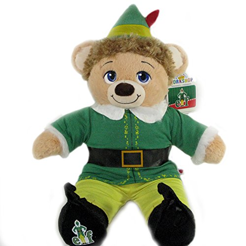 [Build-A-Bear Buddy Elf Christmas Teddy Bear Plush in Elf Costume and Buddy Elf Voice Set] (Making Elf Costume)