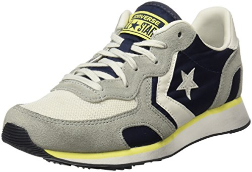 with mastercard Converse Men's Auckland Racer Distressed Ox Sneakers Multicolor (Athletic Navy/Ghost Grey/Buff) tumblr svN0jbO