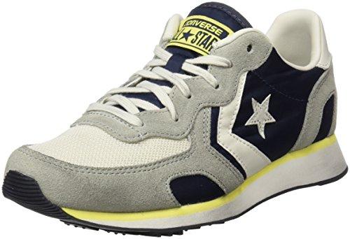 Basso Collo Navy ghost Auckland Distressed Sneaker Ox Grey buff Multicolore Racer athletic A Converse Uomo YCZaqx0qw