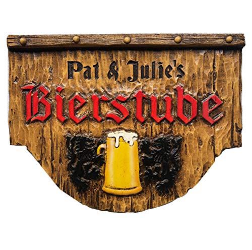 Piazza Pisano German Bierstube Personalized Beer