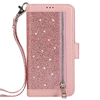 9d0e1b327baf Amazon.com: Jennyfly iPhone Xs Case for Women,Fashion PU Leather ...