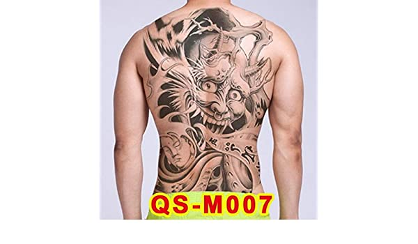 tzxdbh 3pcs Grandes Pegatinas Tatuaje 20 Nuevo diseño de Buda ...