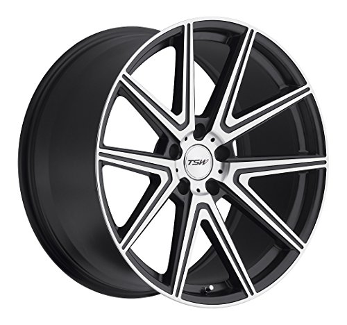 TSW ROUGE Grey Wheel with Painted Finish (17 x 8. inches /5 x 114 mm, 40 mm Offset)