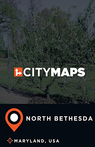 City Maps North Bethesda Maryland, USA